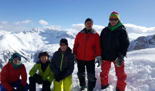 Artikelbild zu Artikel Skitourentage vom 9. bis 13. Februar 2018 in S-charl