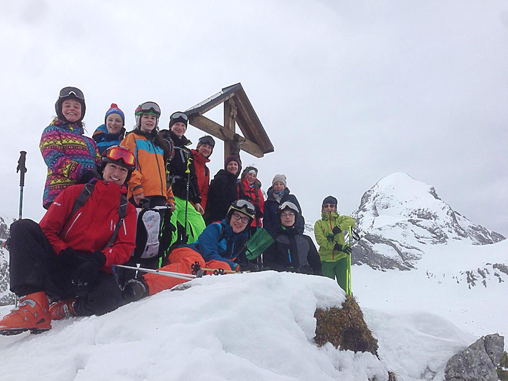 auf Skitour 2018