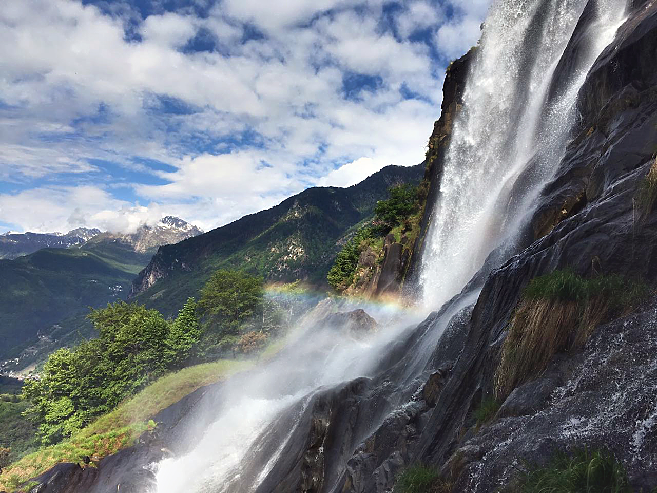 Wasserfall Aquafraggia