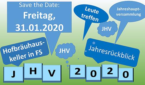Artikelbild zu Artikel JHV 2020