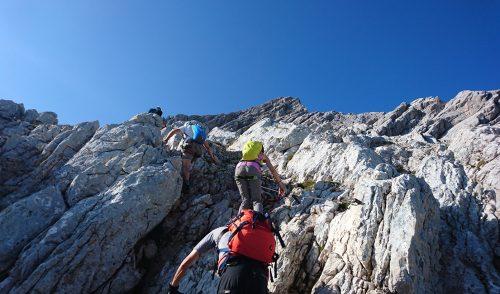 Artikelbild zu Artikel Alpspitzferrata – Klettersteig im Zugspitzrevier