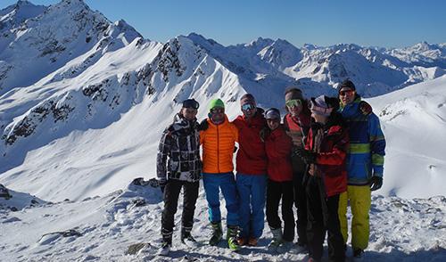 Artikelbild zu Artikel Skitourentage auf der Kaltenberghütte