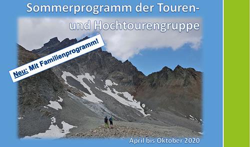 Artikelbild zu Artikel UPDATE: Tourenprogramm